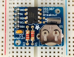 Adafruit DS1307 Real Time Clock