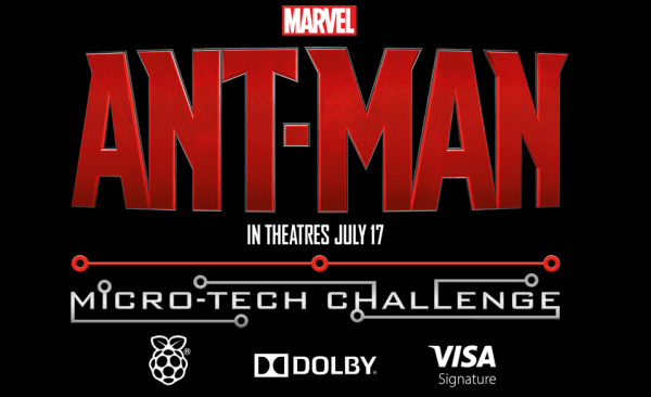 Ant Man Micro Tech Challenge. An exciting competition to help promote STEM