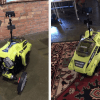 Autonomous Raspberry Pi Lawnmower