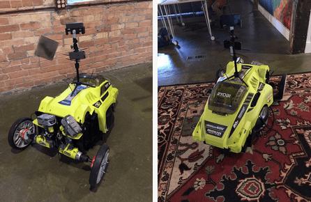 Autonomous Raspberry Pi Lawnmower