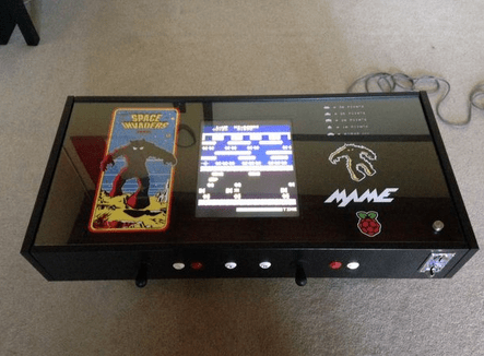Raspberry Pi Coffee Table Arcade Pi Supply