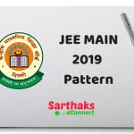 JEE Main 2019 Pattern