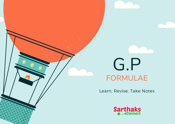 G.P formula