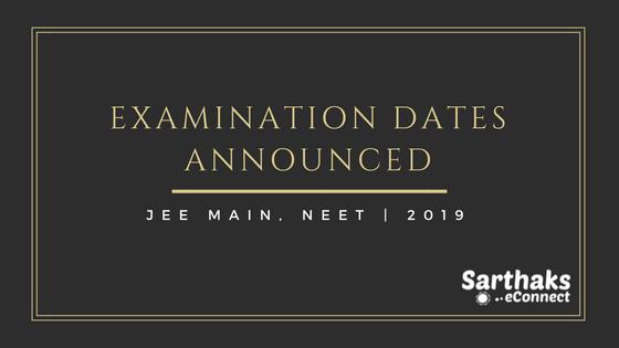 Important Dates Announced