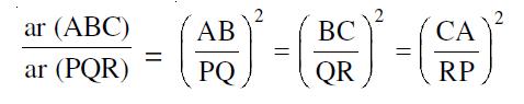 area similar equation
