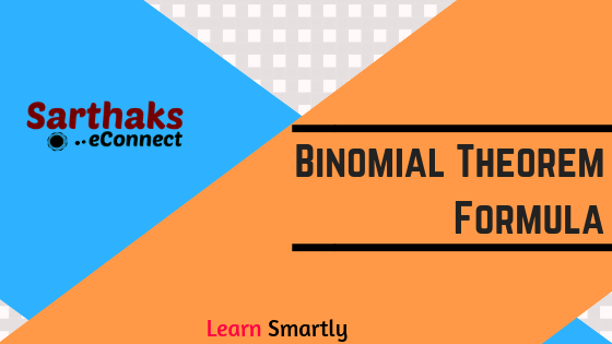 Binomial Theorem Formula