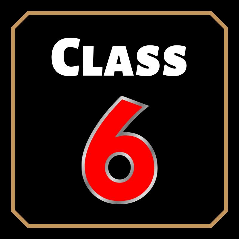 math formula class 6