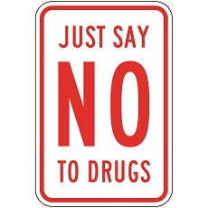 say no to drugs