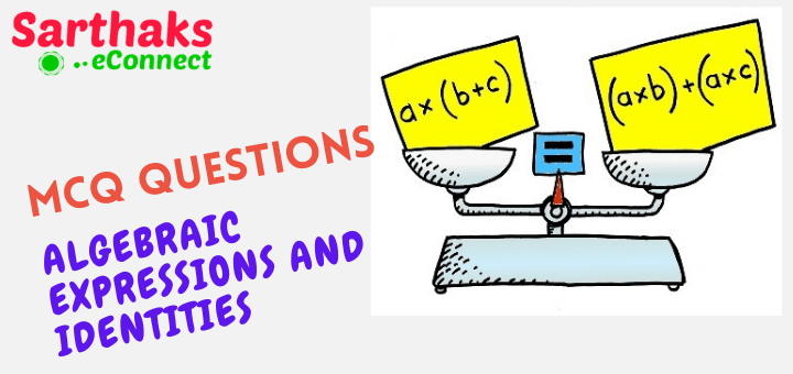 MCQ Questions of Algebraic Expressions and Identities