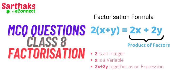 MCQ Questions of Factorisation