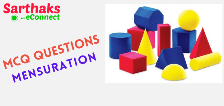 MCQ Questions of Mensuration