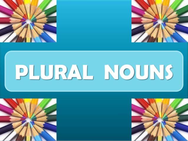 Year 3 SPAG – Plural nouns