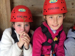 Abseiling was great fun and all the girls (and Mrs Pink too) were very brave!