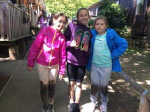The sensory trail was very muddy - everyone will need a shower before the disco tonight!
