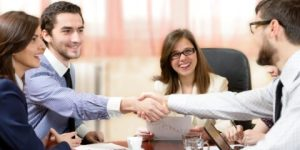 ITFM TBM partners shaking hands