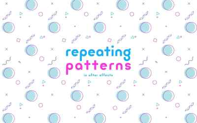 Repeating Patterns in After Effects