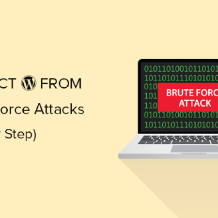 Protect your WordPress Blog from Brute Force Attacks