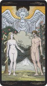 lovers universal tarot
