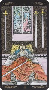 four of swords universal tarot