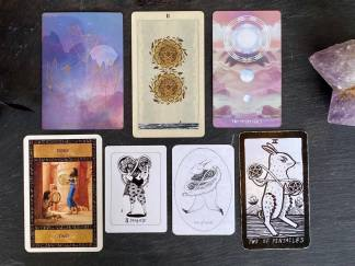 Tarot Memorization Course Pentacles The House of Twigs Erika Fortner