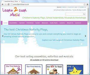 learn2soar music new website
