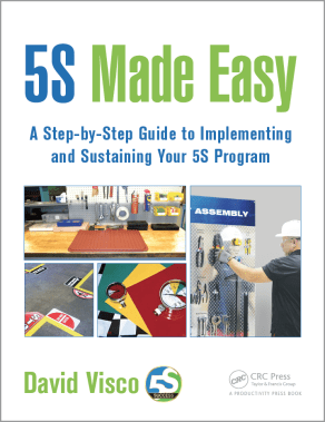 5S Made Easy Book by David Visco of the5Sstore.com