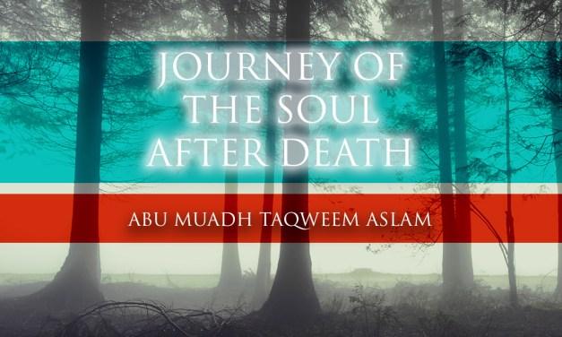 Journey of the Soul After Death | Abu Muadh Taqweem Aslam