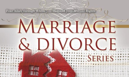 Marriage and Divorce Part 1 | Abu Humayd | Manchester