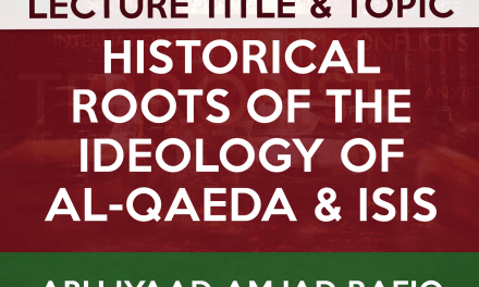 The Historical Roots of al-Qaida and ISIS | Abu Iyad Amjad Rafiq | Manchester