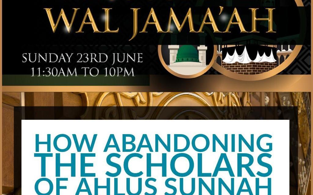 How Abandoning the Scholars of Ahlus Sunnah Lead the People to Misguidance and Destruction – Abu Idrees