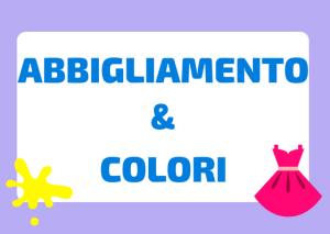 Abbigliamento e colori italiano