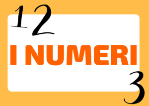 I numeri in italiano