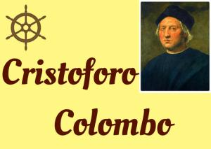 Cristoforo Colombo story in Italian