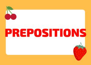 Italian prepositions use