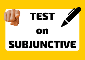 Italian subjunctive test