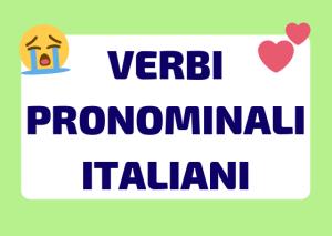 verbi pronominali