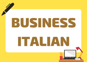 business italian espressioni