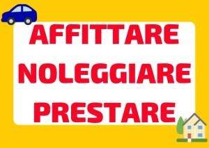 prestare noleggiare affittare Italian
