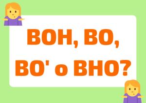 boh meaning italian