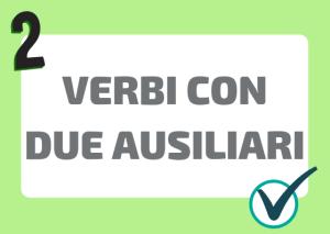 verbi italiani doppio ausiliare