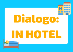 dialogo in hotel italiano