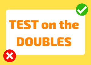 double consonants italian test