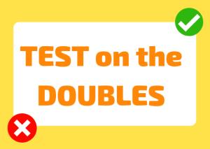 double consonants italian test