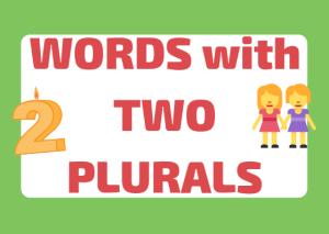 double plurals italian