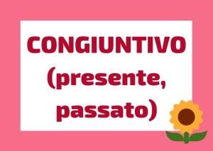 congiuntivo presente e passato italiano