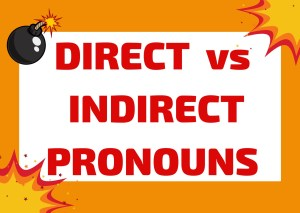 direct and indirect pronouns Italian