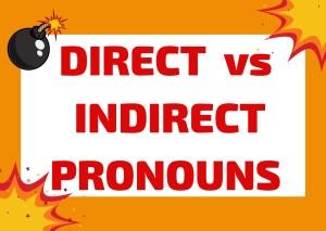 direct and indirect pronouns Italian
