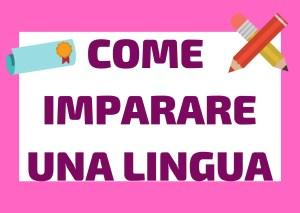 imparare lingua straniera