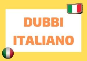 dubbi italiano
