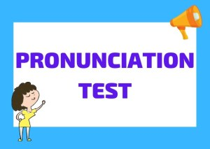 Italian pronunciation test